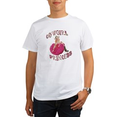 Cowgirl Princess Larger Organic Men's T-Shirt