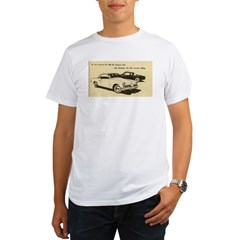 Two '53 Studebakers on Organic Men's T-Shirt