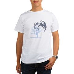 deadtree_NOTEXT_dark Organic Men's T-Shirt
