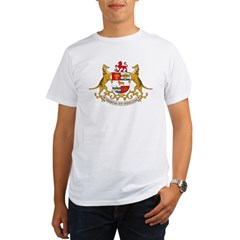 Tasmania Coat of Arms Organic Men's T-Shirt