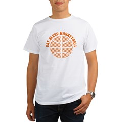 Basketball Organic Men's T-Shirt