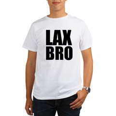 Lax Bro Organic Men's T-Shirt