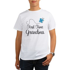 First Time Grandma Organic Men's T-Shirt