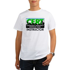 CERT Instructor Organic Men's T-Shirt