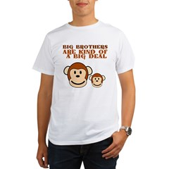 BIG BROTHER monkey Organic Men's T-Shirt