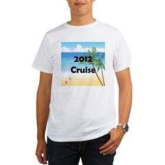 Cruise 2012 Organic Men's T-Shirt