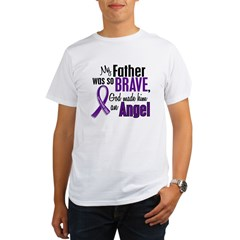 Angel 1 Pancreatic Cancer Organic Men's T-Shirt