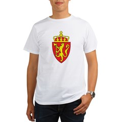 Norway Coat Of Arms Organic Men's T-Shirt