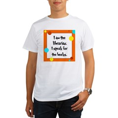Librarian Seuss Lorax Organic Men's T-Shirt