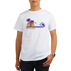 Costa Rica Organic Men's T-Shirt