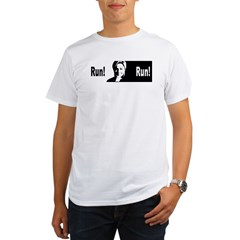 run_hilary_run Organic Men's T-Shirt