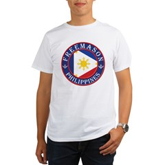 Filipino Masons Organic Men's T-Shirt