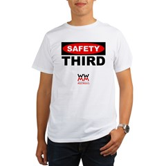 WWMM Safety Third Organic Men's T-Shirt