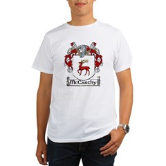 McCarthy Coat of Arms Organic Men's T-Shirt