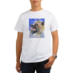Keeshond Organic Men's T-Shirt