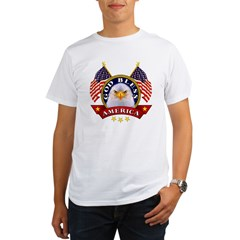God Bless America Organic Men's T-Shirt