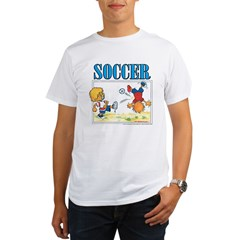 Soccer! Organic Men's T-Shirt