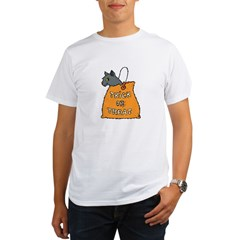 Halloween Cat Organic Men's T-Shirt