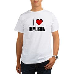 I LOVE DEMARION Organic Men's T-Shirt