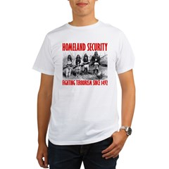 homelandsecurity_transparent2 Organic Men's T-Shirt