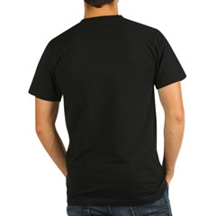 Born This Way 2-sided Organic Men's Fitted T-Shirt (dark)