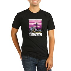 Berlin Organic Men's Fitted T-Shirt (dark)