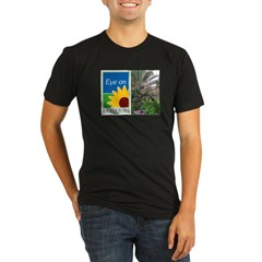 Eye on Gardening Tropical Plants Organic Men's Fitted T-Shirt (dark)