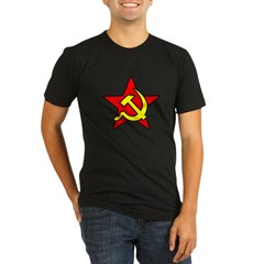 USSR Men''s Organic Men's Fitted T-Shirt (dark)