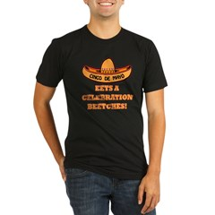 Cinco De Mayo - Eets A Celebr Organic Men's Fitted T-Shirt (dark)