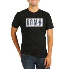 Roma 2 Organic Men's Fitted T-Shirt (dark)