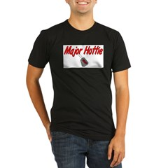 USAF Major Hottie Organic Men's Fitted T-Shirt (dark)