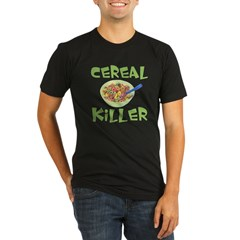 Cereal Killer Organic Men's Fitted T-Shirt (dark)