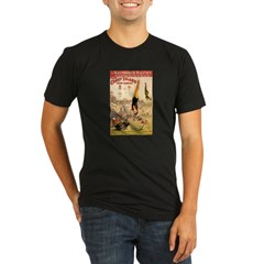 Coney Island Water Carnival Organic Men's Fitted T-Shirt (dark)