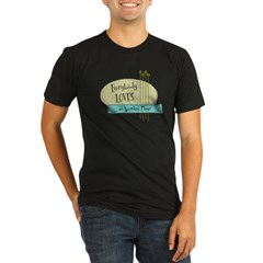 Everybody Loves an Accordion Player Organic Men's Fitted T-Shirt (dark)