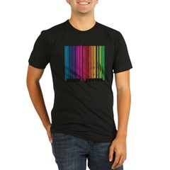 Gay Scan Organic Men's Fitted T-Shirt (dark)