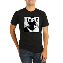 HOPE Obama Organic Men's Fitted T-Shirt (dark)