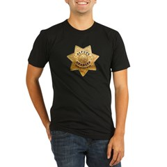 San Joaquin Sheriff Organic Men's Fitted T-Shirt (dark)