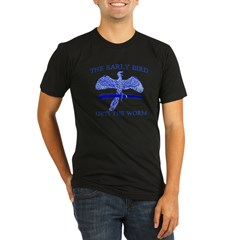 Archaeopteryx Organic Men's Fitted T-Shirt (dark)
