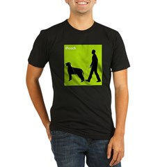 Irish Wolfhound Organic Men's Fitted T-Shirt (dark)