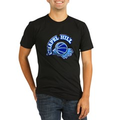 Chapel Hill Basketbal Organic Men's Fitted T-Shirt (dark)