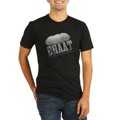Bhaat - Its Whats For Dinner Organic Men's Fitted T-Shirt (dark)