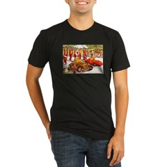Shriner Mini Cars Organic Men's Fitted T-Shirt (dark)