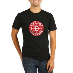 East High Basketball Organic Men's Fitted T-Shirt (dark)