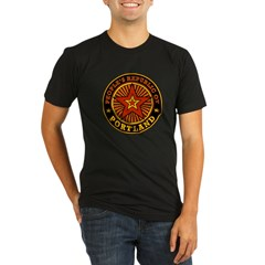 People's Republic of Portland Organic Men's Fitted T-Shirt (dark)