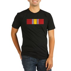 National Defense Medal Organic Men's Fitted T-Shirt (dark)