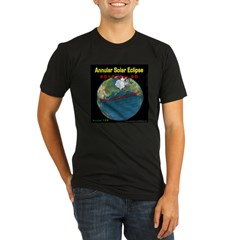 2012 Annular Solar Eclipse Organic Men's Fitted T-Shirt (dark)