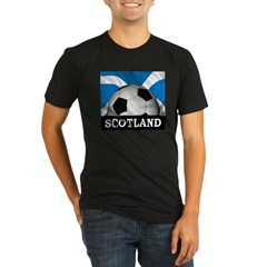 Football Scotland Organic Men's Fitted T-Shirt (dark)