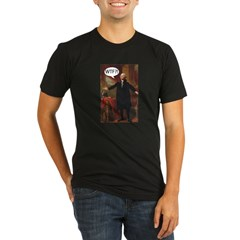 George Washington WTF? Organic Men's Fitted T-Shirt (dark)