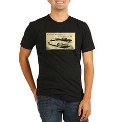 Two '53 Studebakers on Organic Men's Fitted T-Shirt (dark)