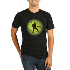 iHit Fastpitch Softball Organic Men's Fitted T-Shirt (dark)